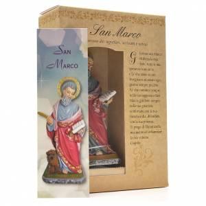 Saint Mark 12cm with Italian prayer s3