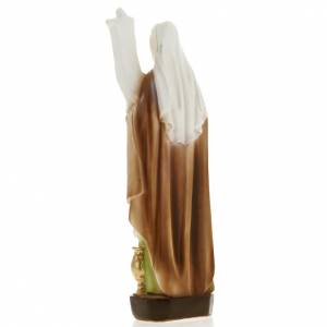 Saint Odile statue in plaster, 20 cm s3