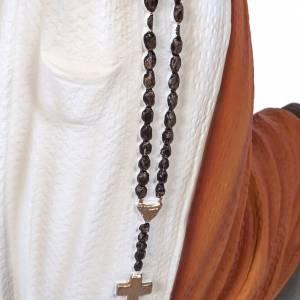 Sainte Bernadette marbre reconstitué 50cm peinte s7