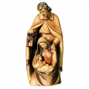 Sainte Famille en bois différentes nuances de marron s1