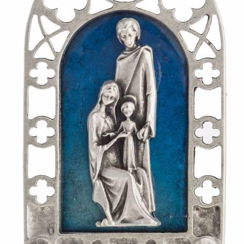Sainte Famille petit carreau décoration gotique s5