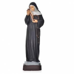 Sainte Rita statue pvc incassable 16 cm s1