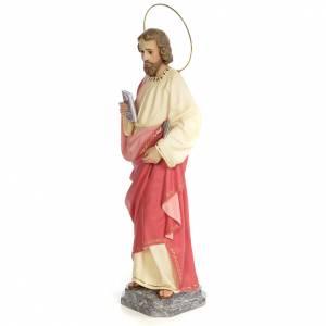 San Giuda Taddeo 60 cm pasta di legno dec. fine s2