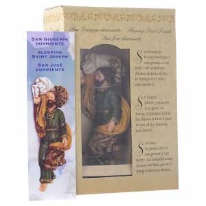 San José Durmiendo 12 cm con CAJA REGALO oración en muchos idiomas s4