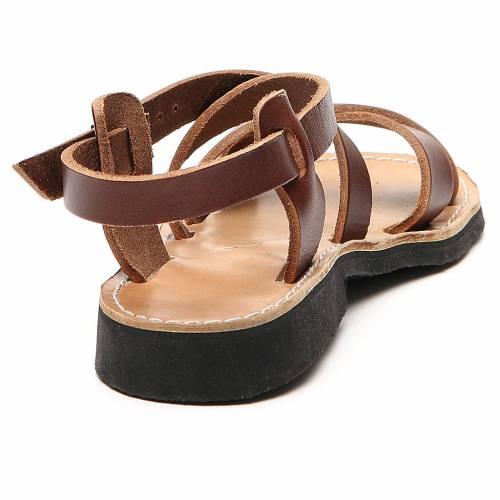 Sandales franciscaines mod. Sinaia cuir Moines de Bethléem s3