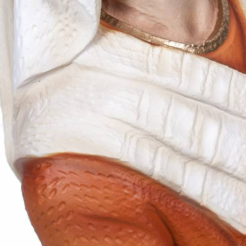 Santa Bernardita 50 cm polvo de mármol pintado s4