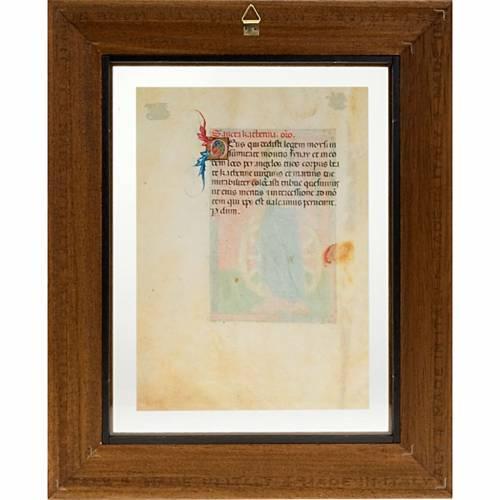 Santa Catalina de Alejandría manuscrito miniado s3
