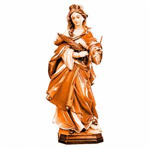Santa Orsola varie tonalità di marrone in legno s1