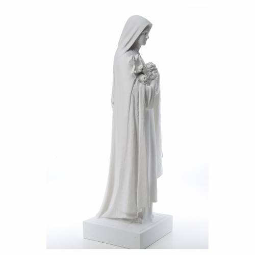Santa Teresa cm 100 polvere di marmo di Carrara s4
