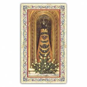 Santini: Santino Statua della Madonna di Loreto 10x5 cm ITA