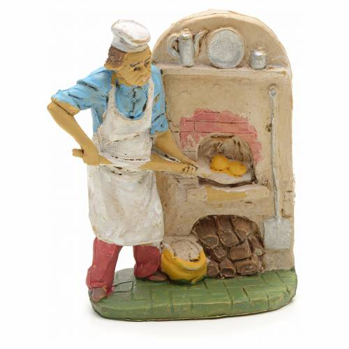 Boulanger avec four 10 cm s1
