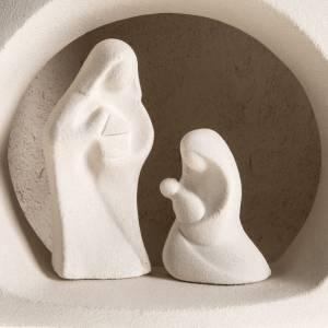 Sapin de Noel Nativité argile réfractaire s2