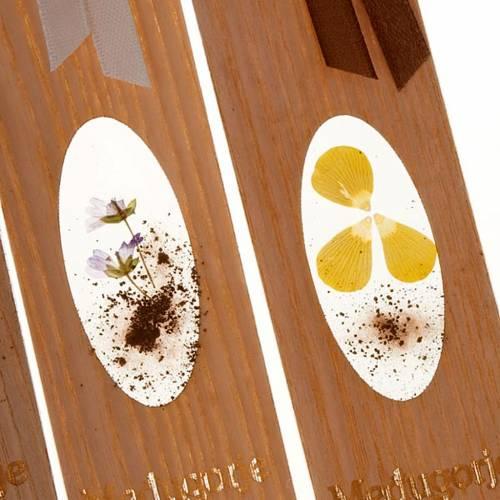 Segnalibro fiori di Medjugorje 30° anno s2