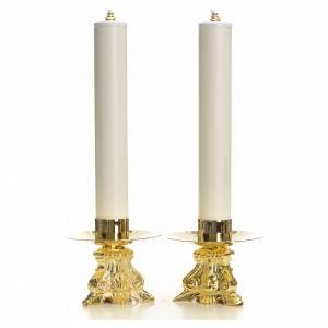 Candelieri metallo: Set completo candelieri barocco e candele