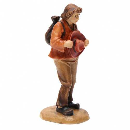 Shepherd with hat figurine, Val Gardena Model 12cm 2