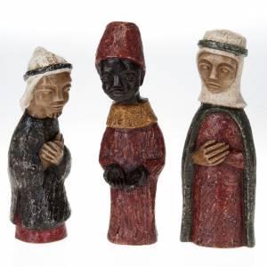 Bethléem Monastery Nativity scene: Small creche painted Bethleem
