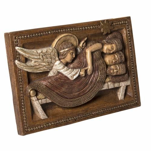 Sogno Re Magi e Angelo pietra Bethléem Gran Presepe Autunno s2