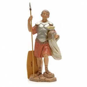 Soldat et sa lance crèche Fontanini 19 cm s1