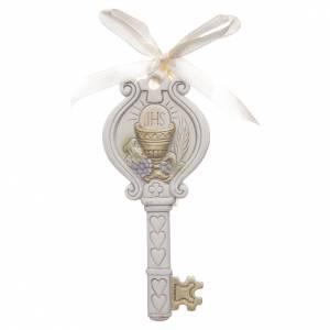 Bonbonnières: Souvenir Communion clé calice 4x9 cm