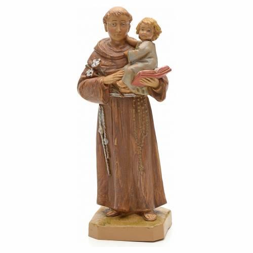 St Antoine de Padoue à l'enfant 18 cm Fontanini s1
