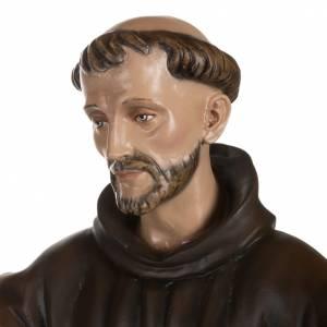 St François avec colombe fibre de verre 100 cm s6