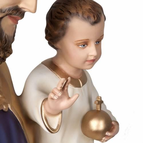 St Joseph avec enfant statue fibre de verre 160 cm s5