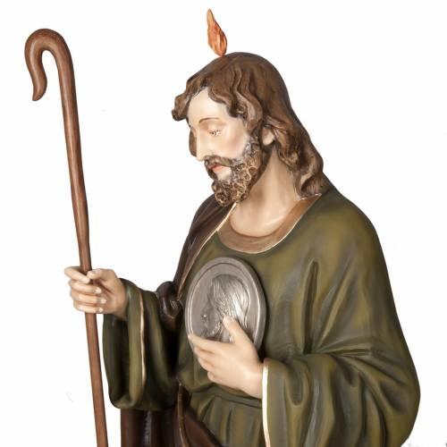 St Jude Thaddée statue fibre de verre 160 cm s4