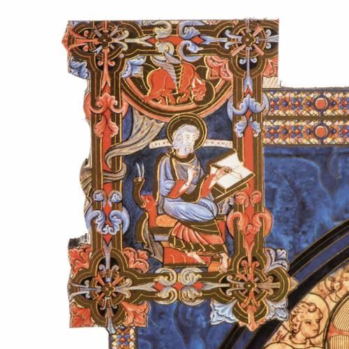 STOCK Stampa legno decorata SS. Trinità Anno della Fede 37x28 s3