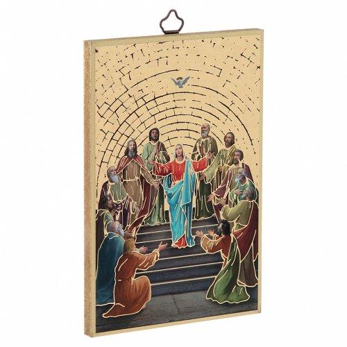 Stampa su legno Pentecoste s2