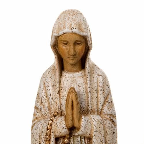 Nostra Signora di Lourdes legno Bethléem s4