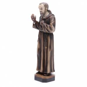 Statua P. Pio da Pietrelcina 30 cm resina s2