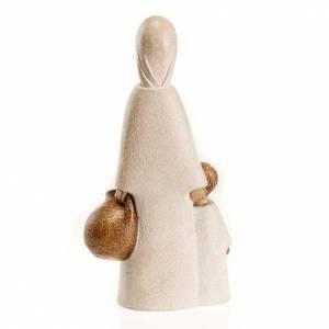 Statue in pietra: La Vergine a Nazareth