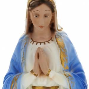 Statua Sacra Famiglia 40 cm gesso s2