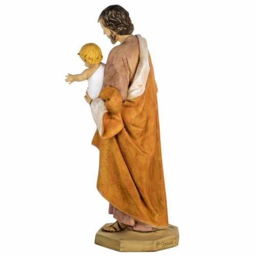 Statua San Giuseppe 100 cm resina Fontanini s8