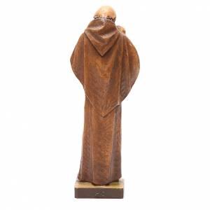 STOCK Statua Sant'Antonio pasta di legno dipinta 31 cm s4