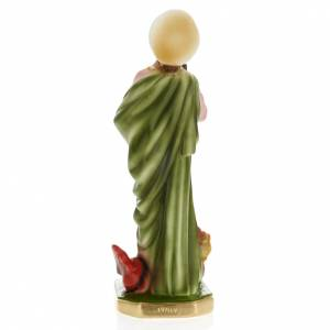 Statua Santa Marta 30 cm gesso s4