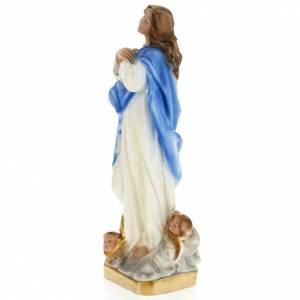 Statue de la Vierge de Murillo plâtre 30 cm s5