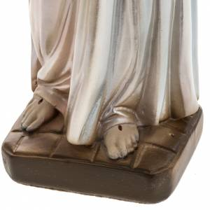 Statue Divine Miséricorde plâtre prlé 30cm s4