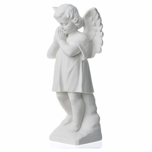 Statue en marbre Angelot 30 cm s2