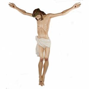 Fiberglas Statuen: Statue Leib Christi, Fiberglas 150 cm