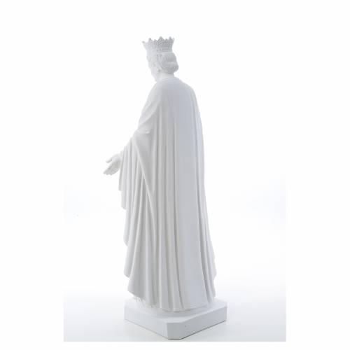 Statue Notre Dame de la pureté marbre reconstitué s3