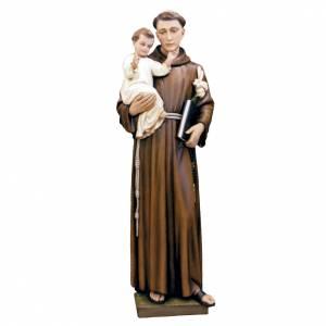 statue saint antoine de padoue fibre de verre peinte 160cm vente en ligne sur holyart. Black Bedroom Furniture Sets. Home Design Ideas