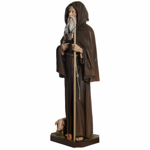 Statue Saint Antoine le Grand fibre de verre 160 cm s8