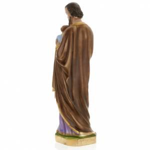 Statue Saint Joseph plâtre 60 cm s7