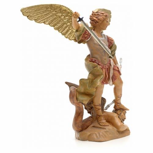 Statue Saint Michel 18 cm Fontanini s4
