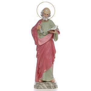 Statue Saint Pierre  50 cm pâte à bois s1