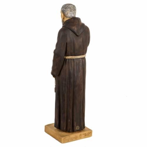Statue Saint Pio 50 cm résine Fontanini s4