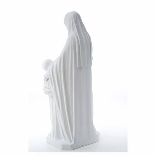 Statue Sainte Anna poudre de marbre 80 cm s3