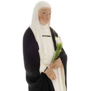 Statue Sainte Catherine plâtre 20 cm s2