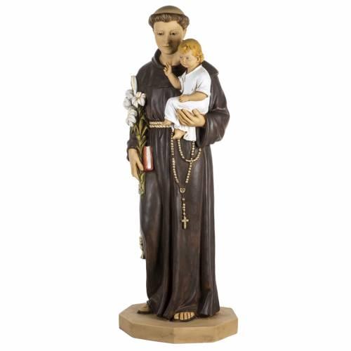 Statue St Antoine de Padoue 100 cm résine Fontanini s1